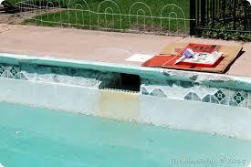 domestic bliss diy in ground pool repair part ii replacing