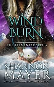 Windburn The Elemental Series 4 By Shannon Mayer