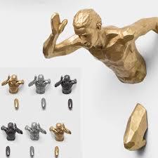 3d industriellen stil laufschuhe skulptur harz wohnzimmer