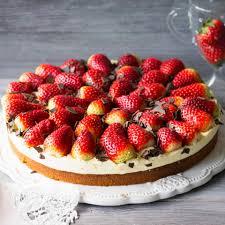 erdbeer schmandkuchen