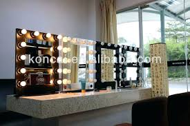 led light wall mounted makeup mirror glimmer nameeks with
