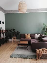 wollteppich tolga grün farbgestaltung wohnzimmer