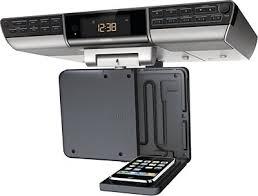 Ilive Under Cabinet Radio Walmart by Amazon Com Philips 7 Inch Digital Tv Clock Radio Ajl750 37