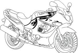 Coloring Pages Free Printable Motorcycle Kids For Adults Advanced Dragons Toddlers Online