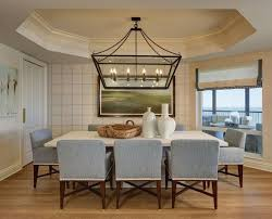 Linear Chandelier Dining Room Modern Best Of 161 Rooms