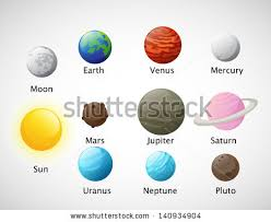 Solar System Vector Download Free Vector Art Stock Graphics