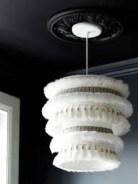 Washer And Spider Fitter Lamp Shade by Diy Project Moroccan Wedding Blanket Inspired Pendant U2013 Design Sponge