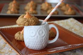 Pumpkin Spice Hershey Kisses Cookies by Pumpkin Spice Oatmeal Cookies Knead To Cook