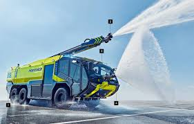 This Fire Engine Is Specifically Designed To Combat Aeroplane ...