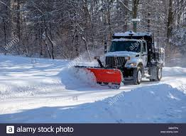 Snow Plow Truck Stock Photos & Snow Plow Truck Stock Images - Alamy