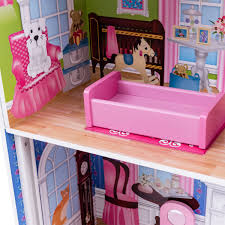 LOL Surprise Wooden Doll House Barbie Doll Dream House With Elevator