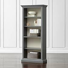 Open Bookcase by Bookcases Wood Metal And Glass Crate And Barrel