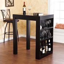 Buy Wooden Bistro Table With Wine Rack Storage A Nice End Versatile Use Guaranteed For Kitchen Livingroom Coffee Other Just As
