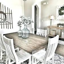 Rustic Farmhouse Dining Room Furniture And Decor Ideas Antique White Country