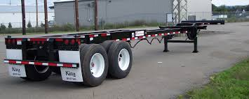 20 40 Foot Tandem Axle City Chassis - ChassisKing.com