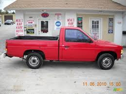 1991 Aztec Red Nissan Hardbody Truck Regular Cab #39388153 ...