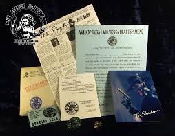 The Shadow Club Complete Membership Kit 1994