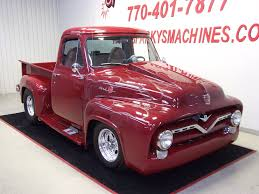 AutoTrader Classics - 1955 Ford F100 Truck Burgundy 8 Cylinder ... 1955 Ford F100 For Sale 2047335 Hemmings Motor News Cars F250 Parts Or Restoration Truck Enthusiasts Forums For Sale Autabuycom Gateway Classic Indianapolis 275ndy F800 Wheeler Auctions Panel F270 Kissimmee 2015 Pickup 566 Dyler Blue Front Angle Wallpapers Vehicles Hq Pictures Custom Frame Off Restored Ac Corvette 1963295