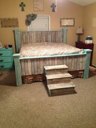 Ana White Headboard King by Farmhouse King Bed Knotty Alder And Grey Stain Do It Yourself
