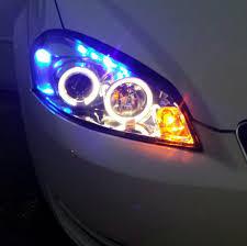 spyder chrome ccfl halo headlights chevy impala forums
