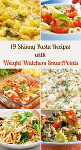 cuisine ww 19 pasta recipes with weight watchers smartpoints