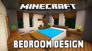 Minecraft Tutorial How To Build A Modern House Ep6 Bedroom Furniture Design Ideas
