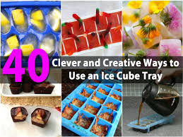 Halloween Jello Molds by 40 Clever And Creative Ways To Use An Ice Cube Tray Page 3 Of 4
