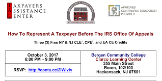 Representing a Taxpayer Before the IRS fice of Appeals Tickets