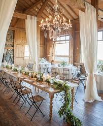 Rustic Massachusetts Barn Wedding Reception Centerpiece Idea