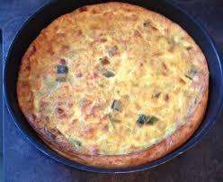 quiche sans pâte poireau mozzarella recette de quiche sans pâte