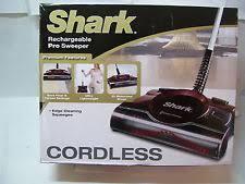 shark lightweight cordless floor and carpet sweeper v2940c ebay