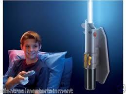 wars lightsaber room light wall sconce light w remote