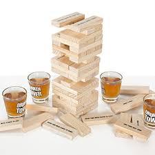 Drunk Jenga Tile Ideas by Amazon Com Icup Drunken Tower 00146 Toys U0026 Games Decor Sala