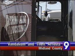 100 Permian Trucking Man Behind Bars After Stealing Equipment From Company