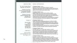 Templates For Resume Free Download Create Unique Template Word