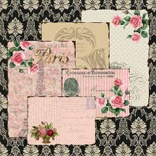 Shabby Chic Vintage FRENCH Paris Ephemera BACKGROUND Papers 331 Postcards ATCs ACEOs Crafts Scrapbook Cardswallpapers Instant Download