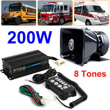 200W 8 Tones Car Warning Alarm Siren Horn Remote Control Loud ... 12v Loud Horn Car Van Truck 7 Sound Tone Speaker With Pa System Mic Lm Cases Products Hot 80w 5 Siren 12v Warning Megaphone Soroko Trading Ltd Smart Gadgets Electronics Spy Hidden Mese 12 Inch Professional Trolley S 12d With New 115db Air For Boat Sounds Pa Best 2017 Wolo 4000 Alert Northern Tool Equipment Optimum Cable Service In Brooklyn Editorial Image Of How To Wire A Truck Youtube 100w Auto Max 300db