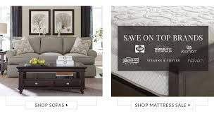 Bobs Benton Sleeper Sofa by Havertys Furniture Custom Décor Free Design Services