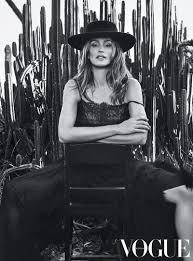 Cindy Crawford Denim Sofa Cover by Cindy Crawford Lands Vogue Australia U0027s March Cover U2013 See The