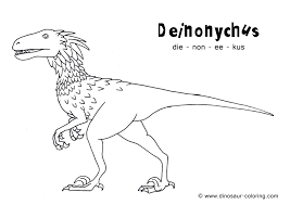 Realistic Dinosaur Coloring Pages Printable Page King To Print With Names Full Size