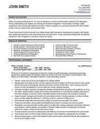 Resume Templates Accounting ResumeTemplates