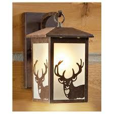 castlecreek rustic outdoor wall lantern 225944 solar outdoor