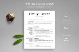 Resume Template And Cover Letter Template