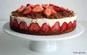 rezept erdbeer quark torte das süße leben
