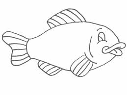 Download Fish Coloring Pages 1 Print