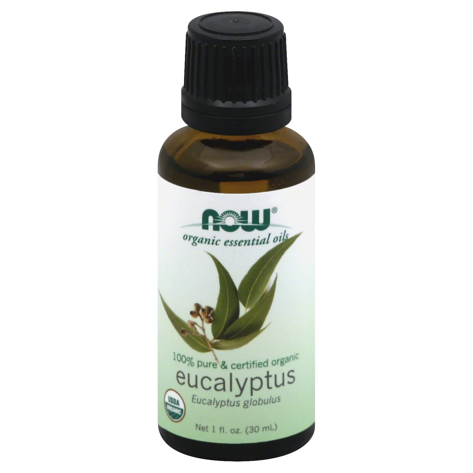 Now Organic Essential Oils - Eucalyptus, 30ml