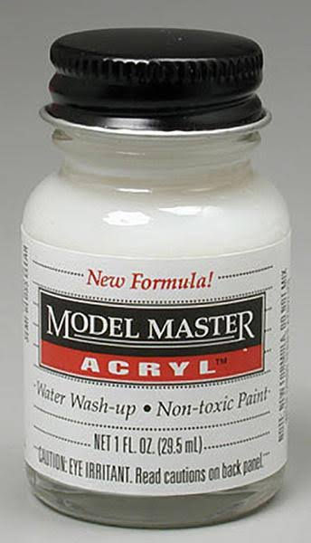 Testors Model Master Acryl Clear Semi Gloss, 1 oz