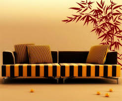 100 Bamboo Walls Ideas Beautiful Looking Leaves Wall Decals Furniture