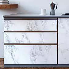homtora marmor folie 30x300cm arbeitsplatte folie