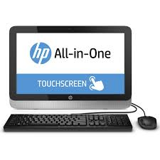 achat ordinateur bureau hp all in one 22 2124nf pc de bureau hp sur ldlc com